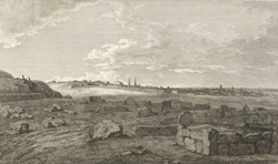 N.N.E. view of Seringapatam, from Capt. Sibbald's redoubt.